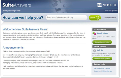 SuiteAnswers
